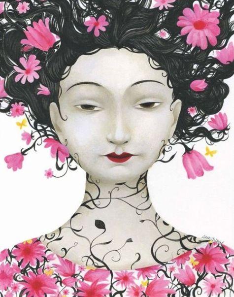 Artwork/Image belongs to the artist, Ana Juan.