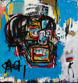Untitled 1982 by Jean-Michel Basquiat