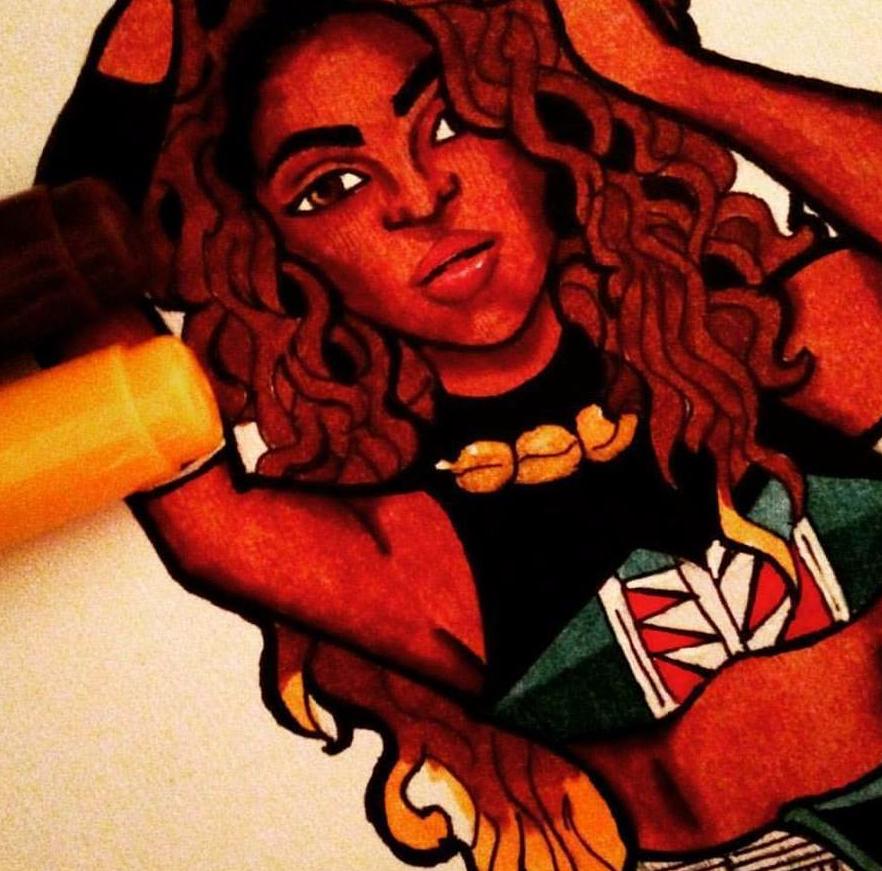 Artist Cindy Nzeakor