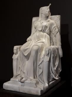 DEATH OF CLEOPATRA_EDMONIA LEWIS 1876