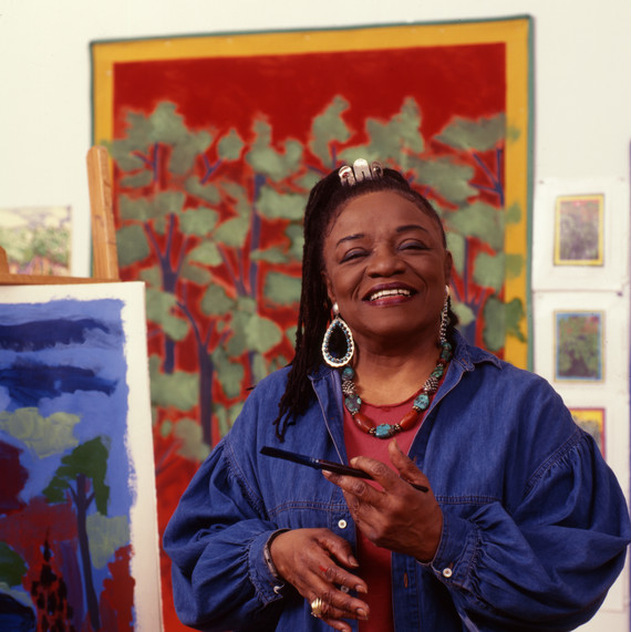 Portrait Of Faith Ringgold