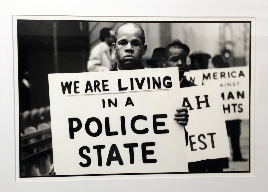 Gordon Parks, Policew State, 1997_Valerie Mercer